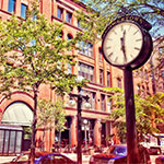 Lowertown clock